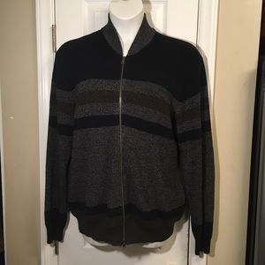 Southern Pines Men's Long Sleeved Knit Sweater